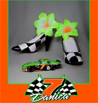 danica patrick whose shoe jan clark