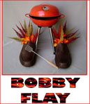 bobby Flay shoe iron chef