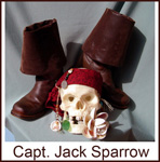whose shoe capt. jack sparrow johnny depp