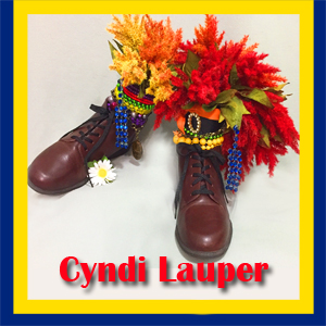 cyndi lauper whose shoe