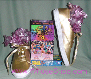 whose shoes shoe richard simmons