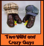 two wild and cray guys whose shoe