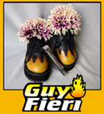 Guy Fieri chef whose shoe jan clark
