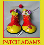 patch adams whose shoe jan clark
